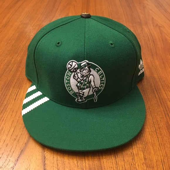 dc5c304922f adidas Other - Adidas Boston Celtics 17 Championships Fitted Hat